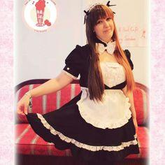 Maid #Maid #cafe #strawberry #sundae
