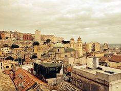 Cagliari, Techos, De La Ciudad Vieja