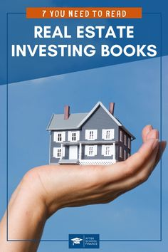 Are you looking for the best real estate investing books? Get the details on how to invest in rental property, including how to find deals, build your team, finance deals, and much more! These 7 books will tell you everything you need to know to get started in real estate! They're great for beginners and seasoned pros alike! Amongst these top picks, there is something for every level of experience. So, get started with real estate investing today! #realestate #investingmoney #passiveincome