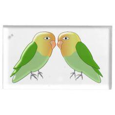 Love Birds Table Card Holder