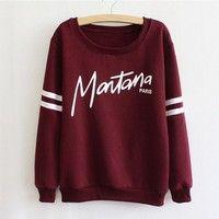 Wish | Women Sports Loose Casual Sweatershirts