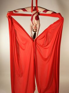 Aerial Silks are amazing!                                                                                                                                                                                 More