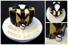 Kilkenny hurling shirt birthday cake
