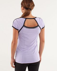 Lululemon: Team Spirit SS ... super adorable. Snatched it up before they sold out!