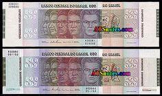Brazil banknotes - Brazil paper money catalog and Brazilian currency history