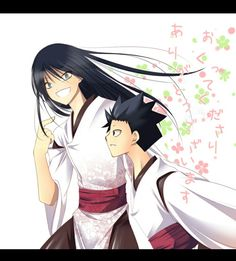 Yakuma and Tsukumo (Itsuwaribito Utsuho)