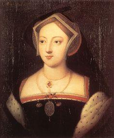Mary Boleyn, Sister of Queen Anne Boleyn, maternal first cousin of Katheryn Howard