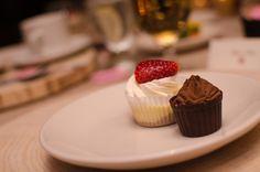 Cupcakes! BlissDesignandEvents.com #blissdesignandevents #woodchargers #rustic #christmasparty #christmas #corkfactoryhotel #corkfactory #corkandcap