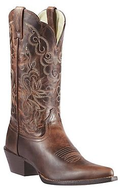 For the Bridesmaids!! Ariat® Women's Sassy Brown Heritage J-Toe Western Boots | Cavender's Boot City