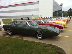 69 Dodge Daytona's