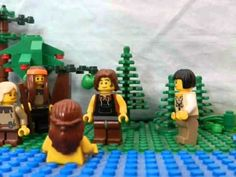 Lego Jesus is baptized youtube video (partial)