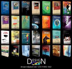 Designer para capas de livros e diagramações.