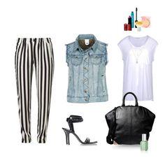 Rayas Polyvore, Image, Fashion, Stripes, Moda, La Mode, Fasion, Fashion Models, Trendy Fashion