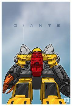 Giant (Jaeger) - Omega Supreme
