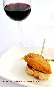 The Spanish Food: PIMIENTOS DEL PIQUILLO RELLENOS DE QUESO DE CABRA Y JAMÓN