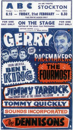 gerry and the pacemakers etc.