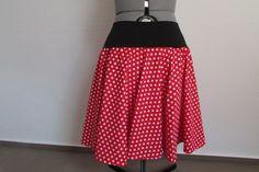 Polka Dots Tellerrock rockabilly handmade von NoGo!