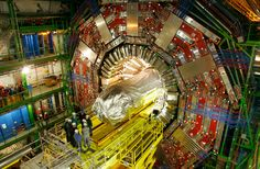 Uncut Occult ceremony at the Opening of World's longest tunnel near CERN in Gotthard massif. Lhc Cern, Particle Collider, Herne The Hunter, Physique, Particle Accelerator, Large Hadron Collider, Satanic Rituals, Higgs Boson, Whole Earth