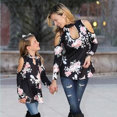 ed25c117129 227 Best Matching Mother Daughter Outfits images in 2019 | Mother ...