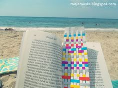Bookmarks on the beach :)