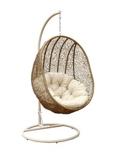 Mimosa Resin Wicker Hanging Egg Chair I N 3191073