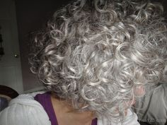 short curly gray hair styles - Google Search