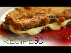 Eggplant Parmigiana – Easy Meals with Video Recipes by Chef Joel Mielle – Italian Dishes, Italian Recipes, High Carb Fruits, Facebook Recipe, Vegetable Chips, Recipe 30, Baking Recipes, Easy Recipes, Tasty Dishes