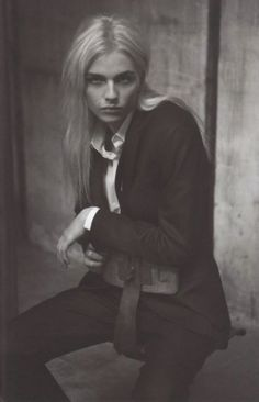 Andrej Pejic inspired our May [2013] masculine-inspired shoot, 'His Name is Rio'.