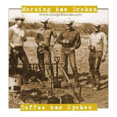 Coffee has spoken  Stop by Cowgirl Blondie's Western Boutique