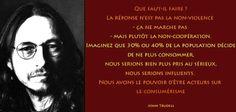 John Trudell : « Nous sommes le pouvoir »...