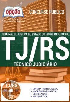 Apostila TJ RS 2017 Técnico Judiciário Download do PDF Digital Baixar ou Impressa - Casa do Concurso - Tribunal de Justiça do Estado do Rio Grande do Sul RS