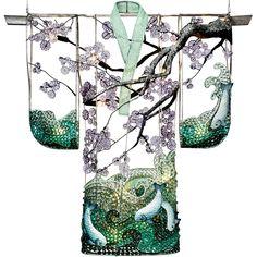Kimono with Koi