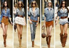 I love Denim  Blue Jean Style from top to bottom
