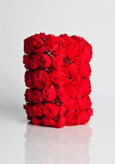 Red Rose Corsage Wallet from CuffnGo on Etsy. I wish I had this for prom!