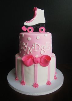 roller skate birthday cake - Google Search