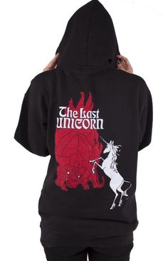 #unicorn #hoodie by #NewBreedGirl #TheLastUnicorn