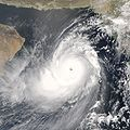 """Cyclone - Wikipedia, the free encyclopedia, """"Weather fronts separate two masses of air of different densities and are associated with the most prominent meteorological phenomena. Air masses separated by a front may differ in temperature or humidity. Strong cold fronts typically feature narrow bands of thunderstorms and severe weather, and may on occasion be preceded by squall lines or dry lines. """""""