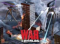 Spacecraft 1194: Pegasus Wow Tripods Attack 1:350 Pgs9006 -> BUY IT NOW ONLY: $37.99 on eBay!