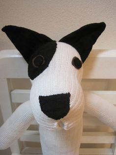Reserved Custom Order Sock Dog by scooterandgoose on Etsy, $35.00