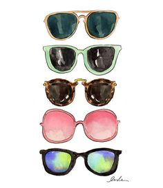 shades (print) by inslee