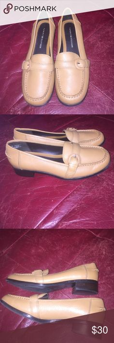Tommy Hilfiger Loafers Gorgeous Tan Colored Tommy Hilfiger Loafers in Excellent Condition size 6 1/2 M Tommy Hilfiger Shoes Flats & Loafers