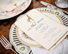 Vintage Desert Safari Wedding Invitations  hand by FestiveFetti