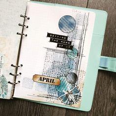 Scrapbook Journal, Journal Layout, Art Journal Pages, Junk Journal, Scrapbook Pages, Scrapbooking, Cute Journals, Bullet Journal 2020, Elizabeth Craft Designs
