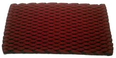 #352 Rose with Navy insert Rockport Rope Doormats 100% made in USA Hand woven