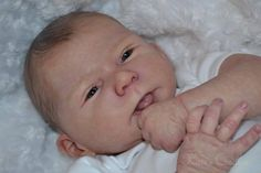 """Katescradles """" Cathy """" by Olga Auer Reborn Baby Doll Sell Out Ed 