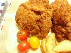 美味しさNo.1!KFC風フライドチキンの画像 Kfc, Main Dishes, Meat, Chicken, Cooking, Recipes, Food, Main Course Dishes, Kitchen