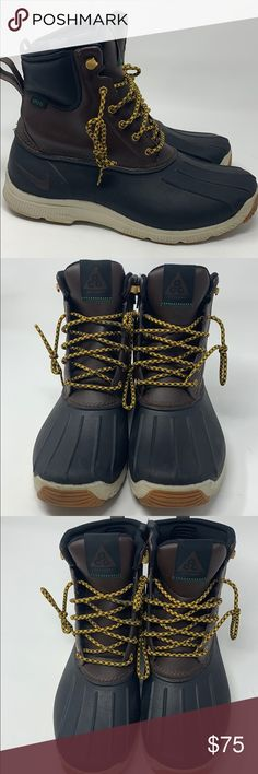 the latest 7336b c38fd Nike woodside ACG boot sneaker Make an offer Great for snow or rain Nike ACG  WOODSIDE