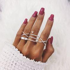 Orbit Stack Set - Silver