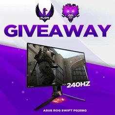 Enter This ASUS ROG Swift Gaming Monitor Giveaway!