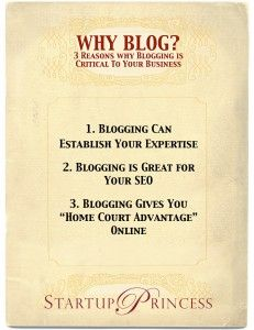 """This article answers the question, """"Why Should I Blog For My Business?"""""""